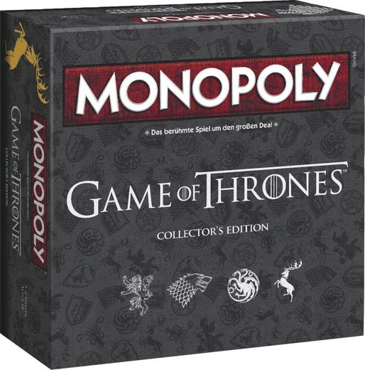 Winning Moves Spiel, Brettspiel »Monopoly Game of Thrones Deluxe Edition«
