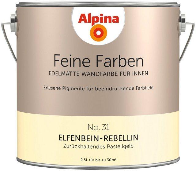 Alpina Feine Farben Elfenbein-Rebellin, gelb