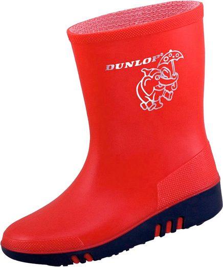 Dunlop »K131510« Gummistiefel Mini rot/blau