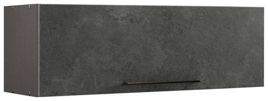 HELD MÖBEL Klapphängeschrank »Tulsa« 100 cm breit, mit 1 Klappe, schwarzer Metallgriff, hochwertige MDF Front
