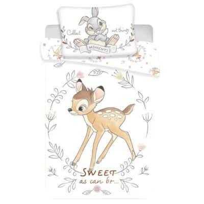 Babybettwäsche »Bambi Sweet«, Disney, 100x135 40x60 cm, 100% Baumwolle