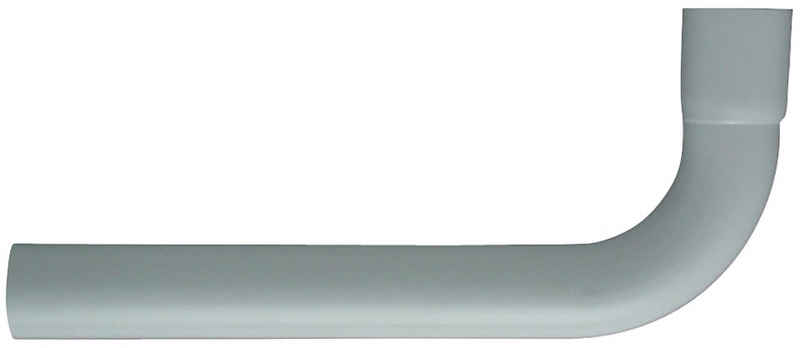 CORNAT Spülrohr, Bogen, 90 °, mit Muffe