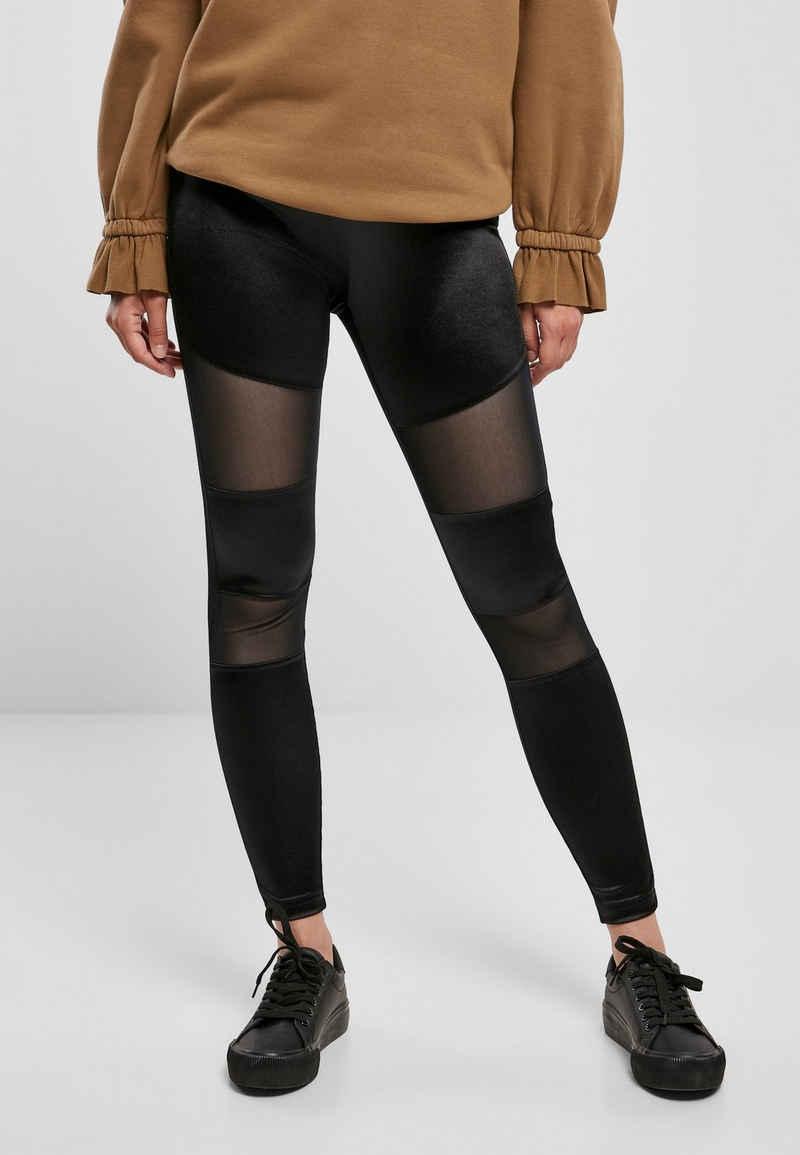 URBAN CLASSICS Leggings »TB3790 Ladies Shiny Tech Mesh Leggings«