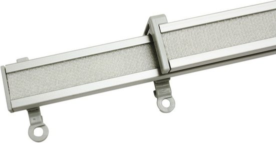 Paneelwagen »Clip-On Paneelwagen«, GARDINIA, (2-St), Kunststoff, Serie Vorhangschiene Perfectline