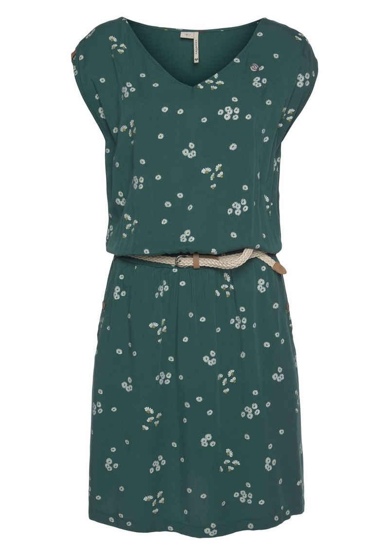 Ragwear Shirtkleid »CAROLINA« im Allover-Trenddruck: Kamille