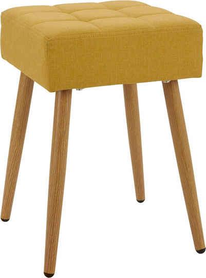 my home Hocker »Louise« (1 St), quadratische Sitzfläche in 32 cm