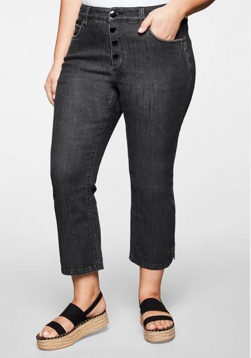 Sheego Stretch-Jeans in 7/8-Länge