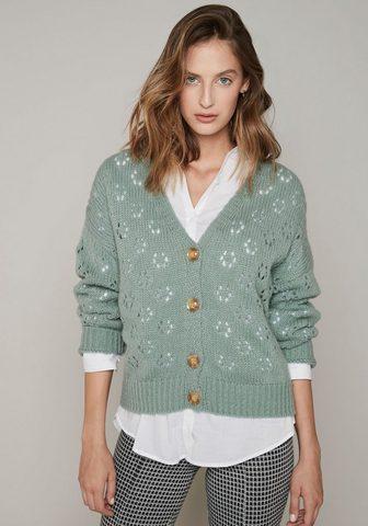 HaILY'S HaILY'S Megztinis »MAXIE« in Lochstric...