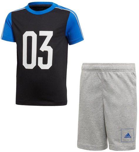 adidas Performance T-Shirt & Shorts »JOUTH BOYS SUMMER SET« (Set, 2-tlg)
