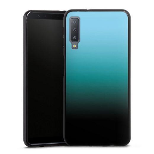 DeinDesign Handyhülle »Modern Darkness« Samsung Galaxy A7 Duos (2018), Hülle zweifarbig Farbverlauf Thermomixmotive