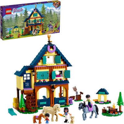 LEGO® Konstruktionsspielsteine »Reiterhof im Wald (41683), LEGO® Friends«, (511 St)
