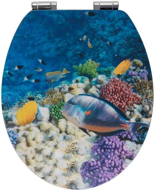 WCs und Zubehör - WENKO WC Sitz »Fish«  - Onlineshop OTTO