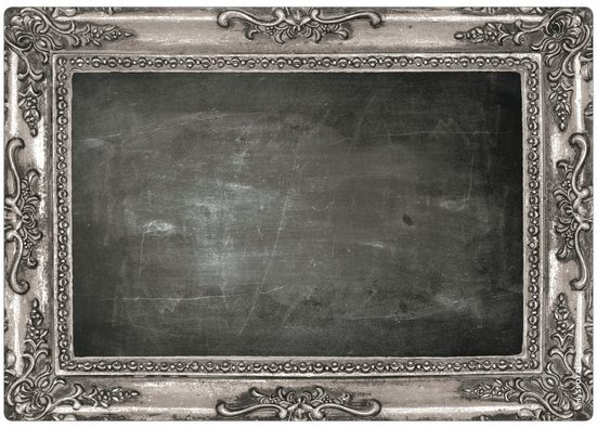 Küchenrückwand »memo«, Frame silver, 59x41 cm