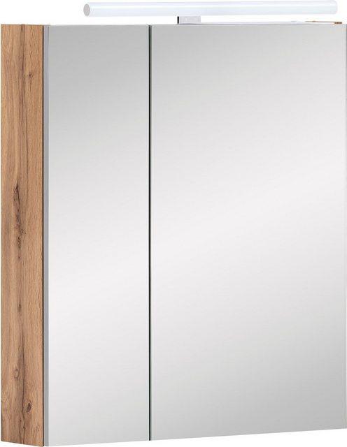 Spiegel - Schildmeyer Spiegelschrank »Duo« Breite 60 cm, mit LED Beleuchtung  - Onlineshop OTTO