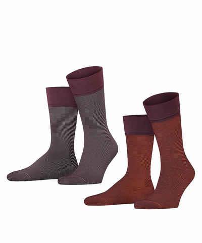 Esprit Socken »Allover Stripe 2-Pack« (2-Paar) mit feinen Streifenmuster