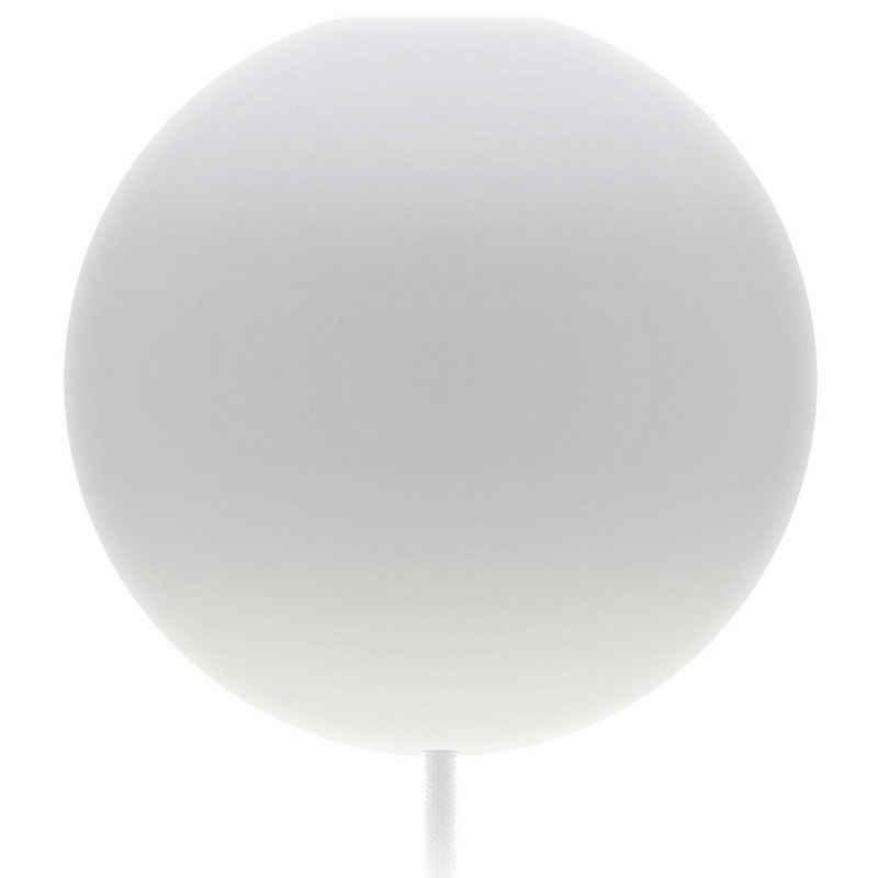 Umage Deckenleuchte »Umage / VITA Cannonball Baldachin mit Textilkabel E27 weiss D 12 cm für A++ bis E«