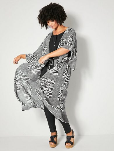 Angel of Style by HAPPYsize Kaftan mit Bindeband in der Taille