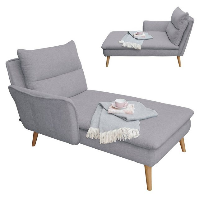 Sofas - PLACE TO BE. Recamiere, Recamiere Ottomane Chaiselongue Sitzbank Polsterbank Tagesbett Daybed mit Armlehne links  - Onlineshop OTTO