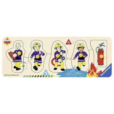 Ravensburger Steckpuzzle »Holz-Puzzle, 5 Teile, 24x9 cm, Feuerwehrmann Sam«, Puzzleteile