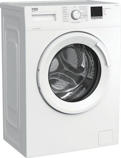 BEKO Waschmaschine WML61023NR1, 6 kg, 1000 U/min