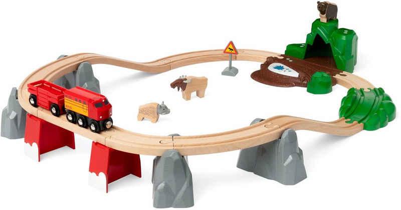 BRIO® Spielzeug-Eisenbahn »Nordische Waldtiere«, (Set), FSC® - schützt Wald - weltweit