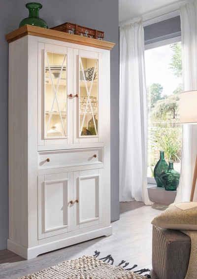 Premium collection by Home affaire Vitrine »Marissa« aus Massivholz