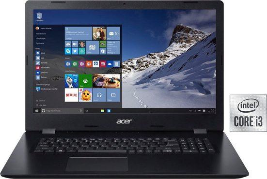 Acer Aspire 3 A317-52-37U5 Notebook (43,94 cm/17,3 Zoll, Intel Core i3, UHD Graphics, 256 GB SSD)