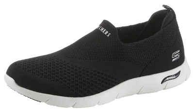 Skechers »ARCH FIT REFINE« Slip-On Sneaker für Maschinenwäsche geeignet