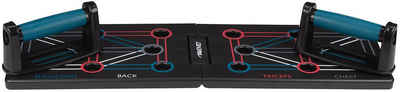 Avento Liegestützgriffe »Push-Up-Board faltbar - Fitness Liegestützhilfe 64 x 20 cm schwarz«