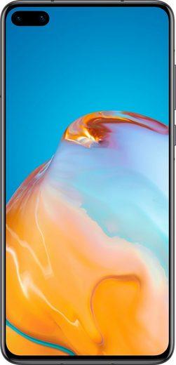Huawei P40 Smartphone (15,5 cm/6,1 Zoll, 128 GB Speicherplatz, 50 MP Kamera, 24 Monate Herstellergarantie)