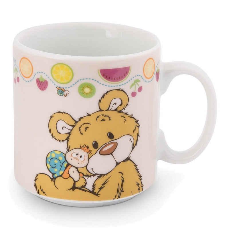 Nici Tasse »Classic Bear - Bär und Schnecke 310 ml«, Porzellan