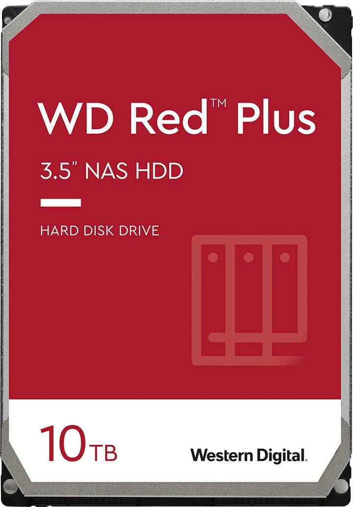 Western Digital »WD Red Plus« HDD-NAS-Festplatte (10 TB) 3,5)