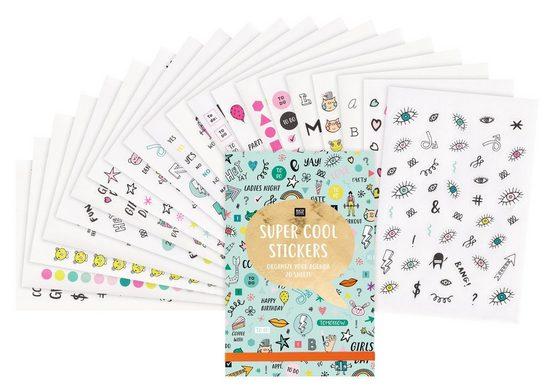 Rico-Design Verlag Sticker »Super Cool«, 20 Blatt