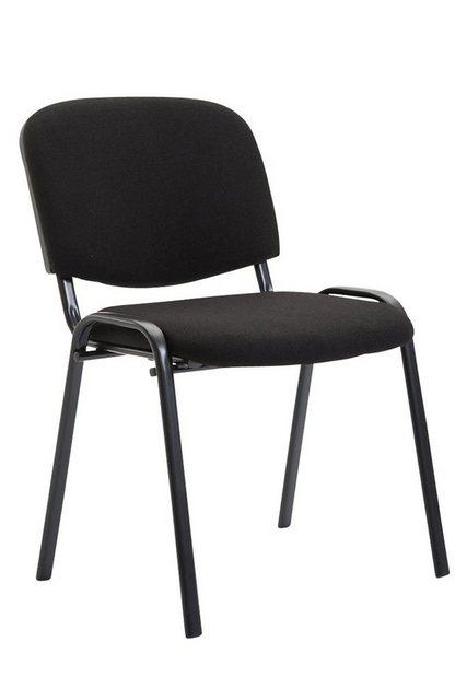 Stühle und Bänke - CLP Besucherstuhl »Ken Stoff« gepolsterter Stapelstuhl  - Onlineshop OTTO