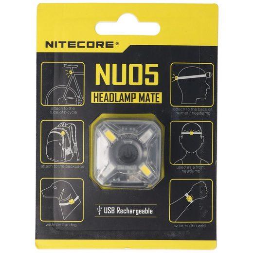 Nitecore LED Stirnlampe »Nitecore NU05 LED Warnlicht 4 Hochleistungs-LED in«