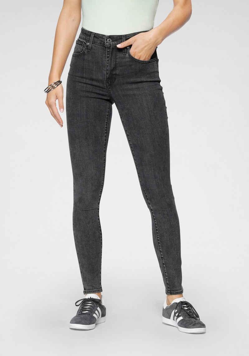 Levi's® Skinny-fit-Jeans »721 High rise skinny« mit hohem Bund