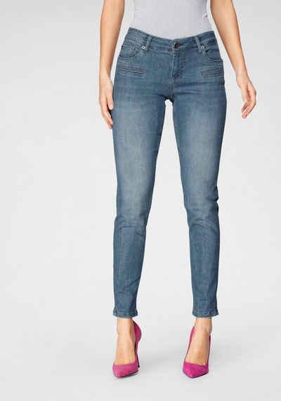 BLUE FIRE Skinny-fit-Jeans »ALICIA-BF« mit Paspeltaschen vorne