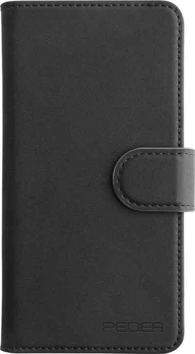 PEDEA Smartphone-Hülle »Echtledertasche Book Cover Premium Galaxy Note10+«, Cover