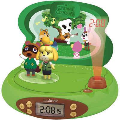 Lexibook® Radiowecker »Animal Crossing Radiowecker mit Projektor und«
