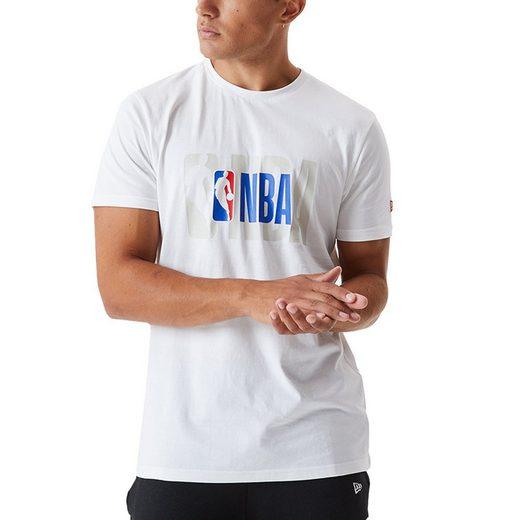 New Era Print-Shirt »NBA LOGO«