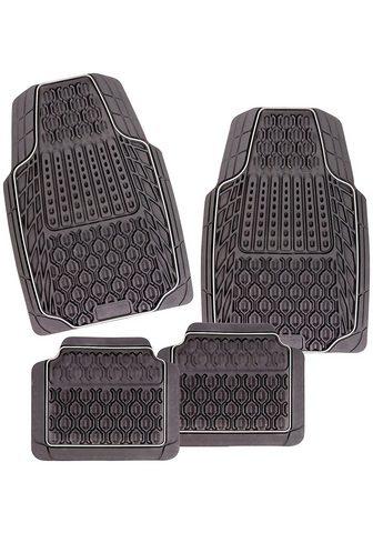 CarFashion Universal-Fußmatten »Tamburello« (4 vi...