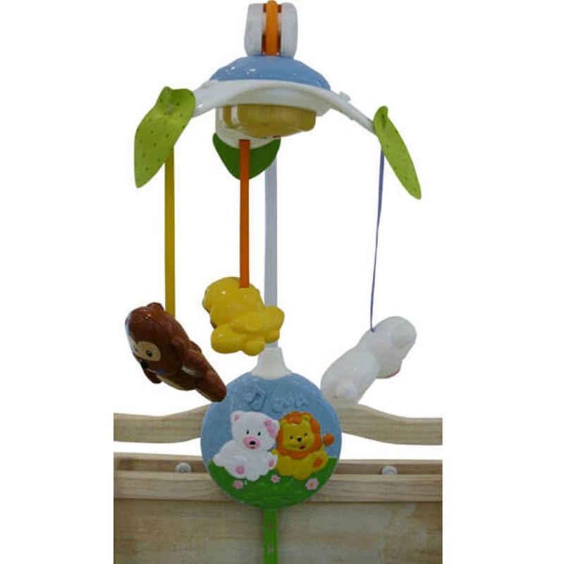 Moni Mobile »Musik Mobile Tiere«, für Kinderbett, Kinderwagen mit Drehmechanismus und C-Ring