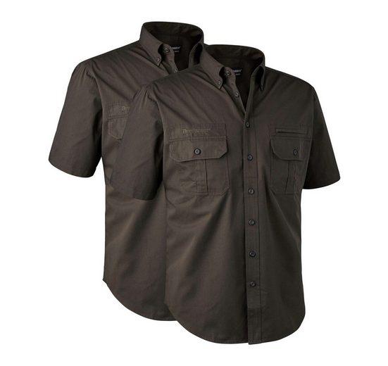 Schlussverkauf Deerhunter Kurzarmhemd »Doppelpack Kurzarmhemden Caribou«