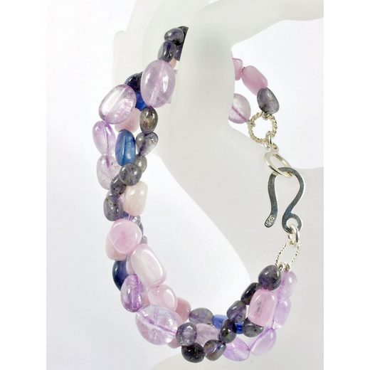 Adelia´s Armband »Amethyst Stein Armband«