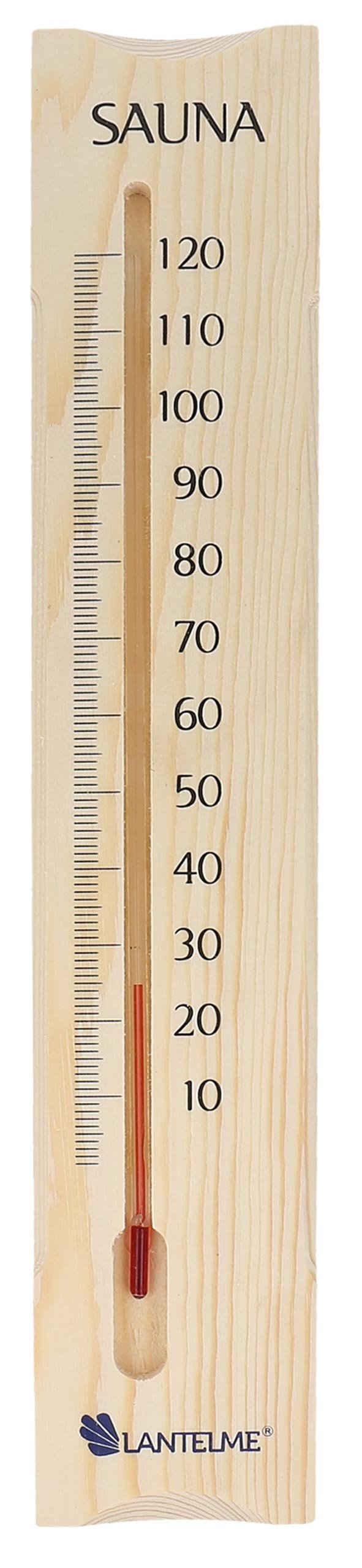Lantelme Badethermometer »Saunathermometer«, 38cm, Kiefernholz