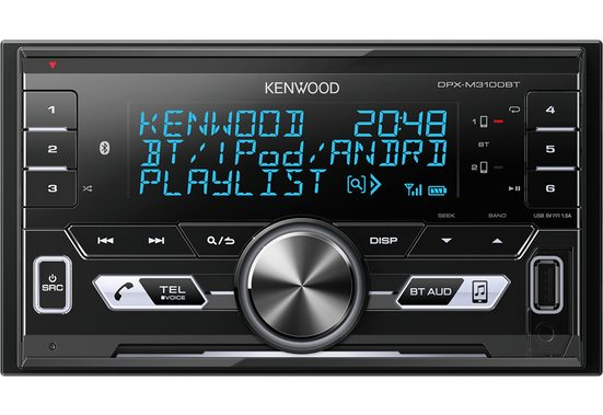 Kenwood Audio-System (Kenwood DPX-M3100BT - 2-DIN Bluetooth USB VarioColor Autoradio)