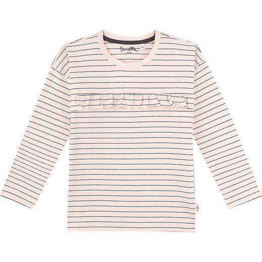 Sanetta PURE Langarmshirt »Baby Langarmshirt für Mädchen, Organic Cotton«