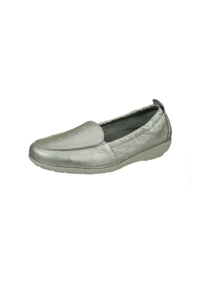 Slipper - Natural Feet »Aurelia« Slipper in tollem Design › silberfarben  - Onlineshop OTTO