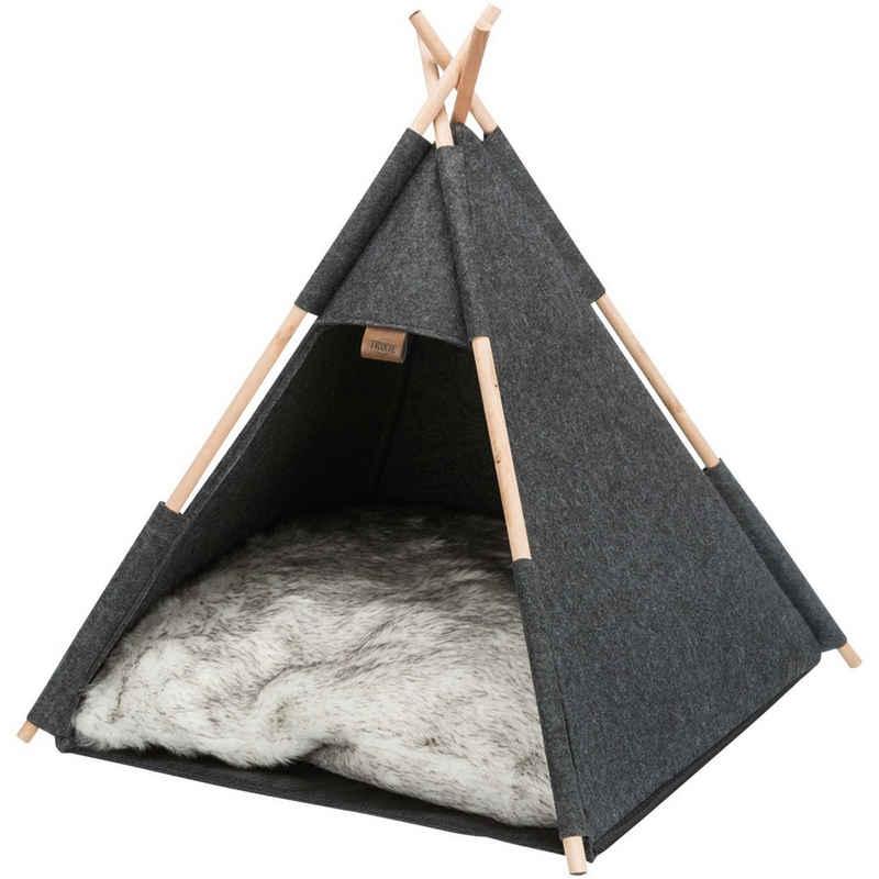 TRIXIE Tierbett »Hunde Zelt Tipi«, hygienischem Polyester, Hundehöhle