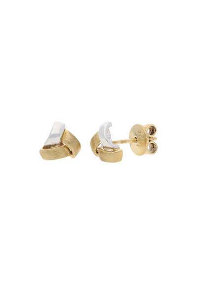 JuwelmaLux Paar Ohrstecker »Ohrstecker Weißgold Ohrringe 6,7 mm « (2-tlg), Damen Ohrstecker Weißgold 333/000, inkl. Schmuckschachtel